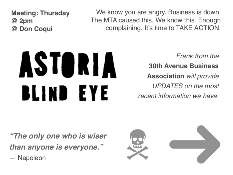 Astoria Blind Eye